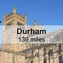 Edinburgh to Durham