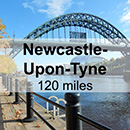 Edinburgh to Newcastle-Upon-Tyne