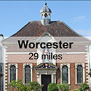 Gloucester to Worcester