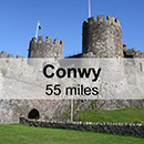Liverpool to Conwy