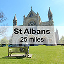 London Trafalgar Square to St Albans