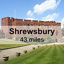 Chester to Shrewsbury