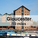 Cirencester to Gloucester