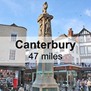 Hastings to Canterbury