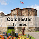 Ipswich to Colchester