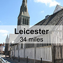 Leamington Spa to Leicester