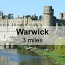 Leamington Spa to Warwick