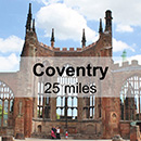 Leicester to Coventry