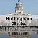 Leicester to Nottingham