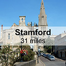 Leicester to Stamford