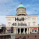 Lincoln to Hull