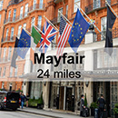 St Albans to London Mayfair