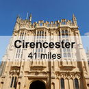 Worcester to Cirencester